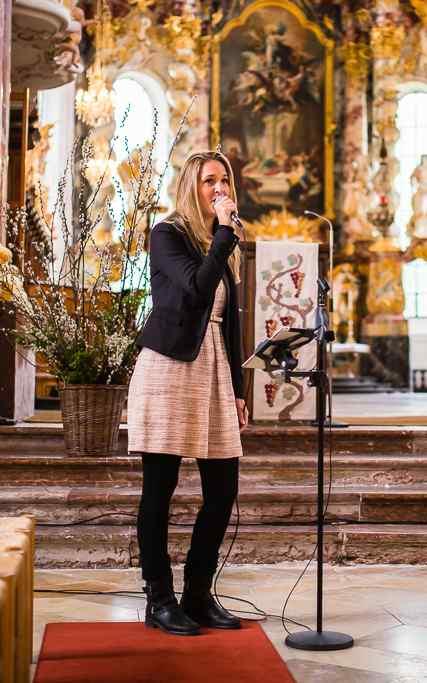 Sangerin Nathalie Cherestal Trauung Standesamt Kirche